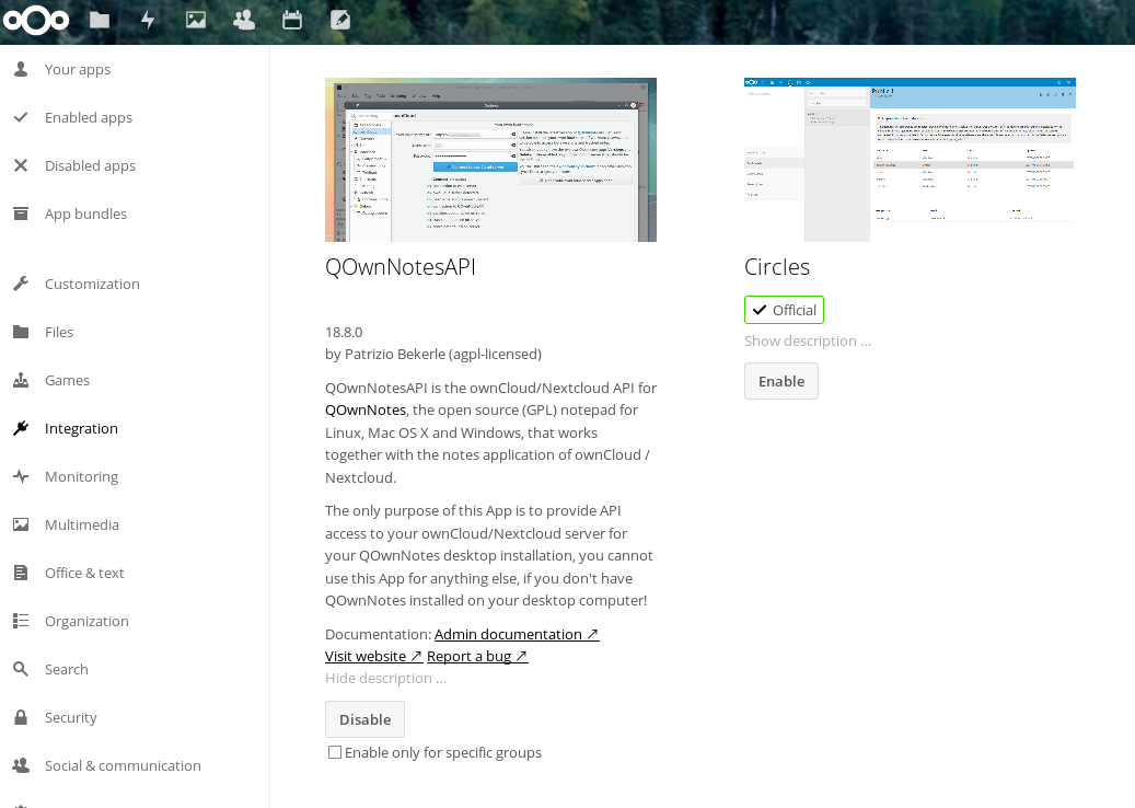 Using QOwnNotes with NextCloud · Dave Evans